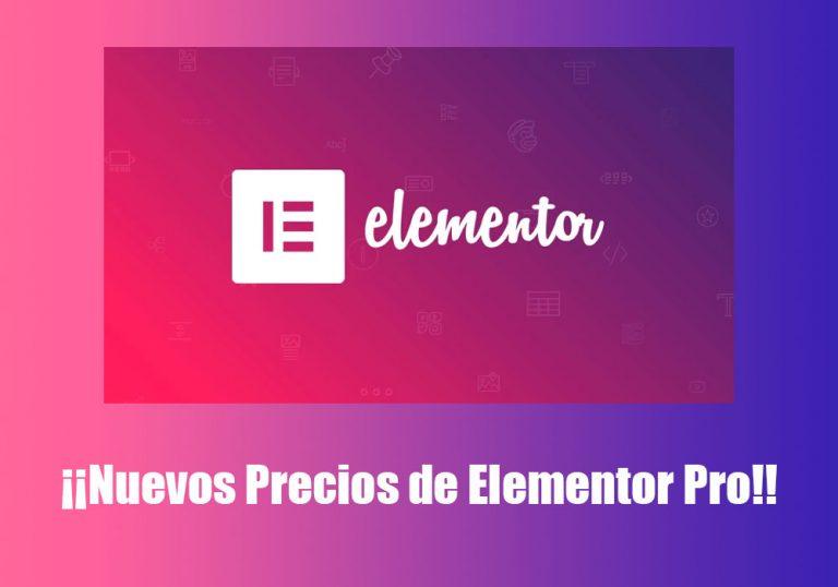 nuevos-precios-de-Elementor-Pro