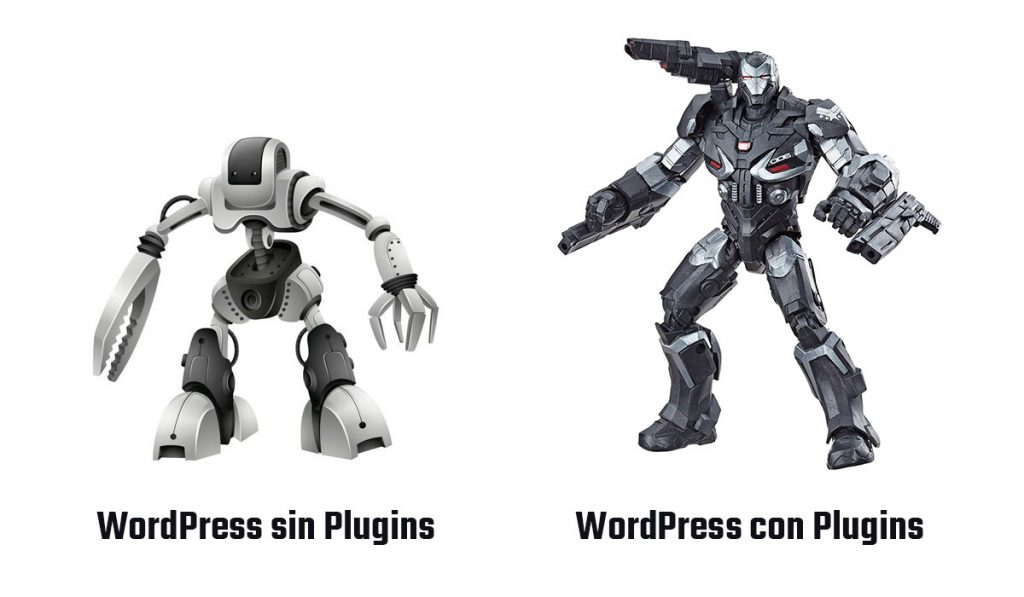 WordPress sin Plugin vs WordPress con Plugins