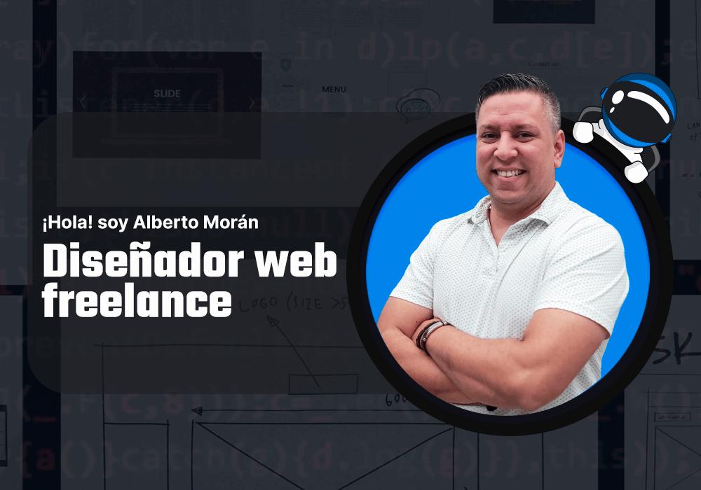 Alberto Morán Diseñador Web Freelance