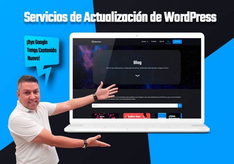 Servicios de Actualización para WordPress - Destacada
